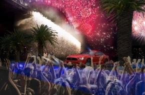 Ford-Werke GmbH: Neuer Ford Mustang: Großer Auftritt bei der spektakulären Silvester-Party in Sydney