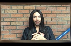"SAT.1: James-Bond-Feeling: Conchita Wurst bei ""The Voice Kids"" (FOTO)"