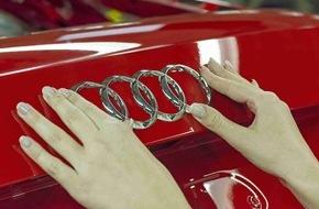 Audi AG: Leistungsstarke Batterie in Audi Elektroauto mit Zell Modulen von LG und Samsung