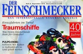 Jahreszeiten Verlag, DER FEINSCHMECKER: DER FEINSCHMECKER kürt die 40 besten Weinbars in Deutschland