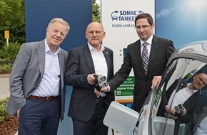 """Unternehmensgruppe ALDI SÜD: Auch Stuttgarter können nun mit ALDI SÜD """"Sonne tanken"""""""