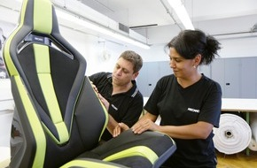"Recaro Automotive Seating: Innovationspreis ""Plus X Award 2016"" - Recaro Sportsitzplattform ausgezeichnet für Innovation, High Quality, Design und Ergonomie"
