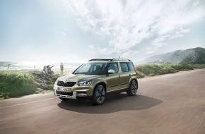 Skoda Auto Deutschland GmbH: Sondermodell SKODA Yeti Adventure: Reichhaltige Serienausstattung und Abenteurer-Look