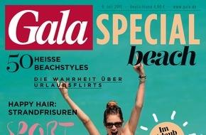 Gruner+Jahr, Gala: GALA-SPECIAL BEACH macht Lust auf Sommer, Sonne und Meer