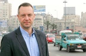 SWR - Südwestrundfunk: ARD-Korrespondent Volker Schwenck wieder in Kairo