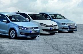 VW / AMAG Automobil- und Motoren AG: «Think Blue. BlueMotion On Tour 2010» - Volkswagen macht umweltfreundliche Mobilität erfahrbar