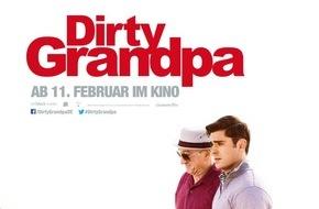 Constantin Film: DIRTY GRANDPA knackt die Besuchermillion