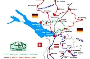 AUTO BILD: 4. Bodensee-Klassik 2015: 170 Old- und Youngtimer sind vom 7. bis zum 9. Mai 2015 im Dreiländereck dabei