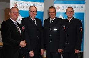 Polizeidirektion Göttingen: POL-GOE: Rainer Nolte als neuer Leiter Einsatz der Polizeiinspektion Göttingen vorgestellt