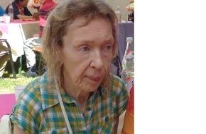 Polizeiinspektion Northeim/Osterode: POL-NOM: 62 Jahre alte Heimbewohnerin aus Bad Sachsa vermisst