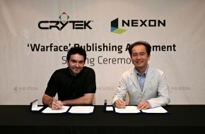 Crytek GmbH: Nexon and Crytek Sign Publishing Deal for Warface® / Online FPS will be marketed and operated in South-Korea and Taiwan (mit Bild)