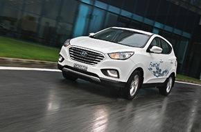 HYUNDAI SUISSE Korean Motor Company, Kontich (B): Hyundai führt erstes serienmässiges Wasserstoff-Fahrzeug in der Schweiz ein