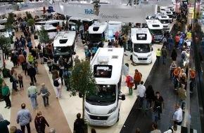 Messe Düsseldorf: CARAVAN SALON DÜSSELDORF und TourNatur mit Besucherzuwachs und Rekordzahlen