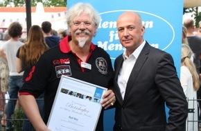 Die Stiftung Menschen für Menschen: Stiftung Menschen für Menschen ernennt Ralf Bos zum Botschafter (FOTO)