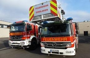 Feuerwehr Dinslaken: FW Dinslaken: Unkrautvernichtung mittels Gasflamme geht schief