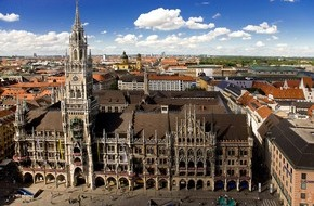 München Tourismus: Zeit für München - Zeit für Entdeckungen / Neu: Spannende Rathausführungen