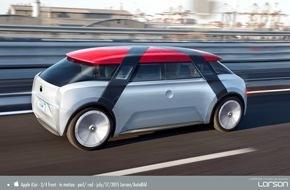 AUTO BILD: AUTO BILD entwirft das Apple-Auto