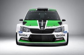 Skoda Auto Deutschland GmbH: Neuer SKODA Fabia R5 feiert auch in der Kundensportszene seine Premiere