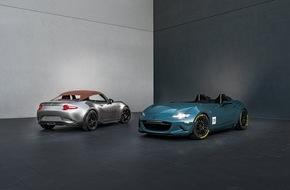 Mazda: Mazda auf der SEMA 2015: Leidenschaft für Leichtbau auf die Spitze getrieben
