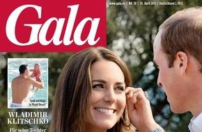 Gruner+Jahr, Gala: Kate Winslet steht auf deutsche Schokolade (FOTO)