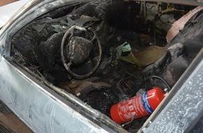 Polizeiinspektion Nienburg / Schaumburg: POL-NI: Brandstiftung und Sachbeschädigung an zwei Pkw