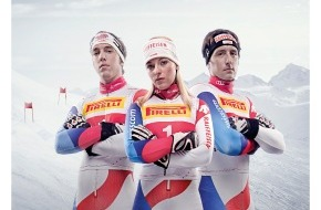 Pirelli Tyre (Suisse) SA: Pirelli ist neu offizieller Partner von Swiss-Ski