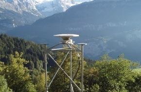 Nagra: Erweiterung des satellitengestützten Präzisionsmessnetzes