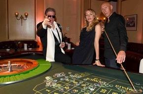 Sky Deutschland: Ein Abend - eine Mission: Sky zelebriert James Bond zum Launch des Pop-up-Channels Sky 007 HD im Hamburger Atlantic Hotel