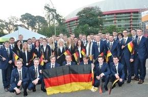 WorldSkills Germany e.V.: Deutsche Champions greifen nach Gold bei WM der Berufe WorldSkills Sao Paulo 2015