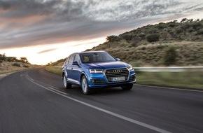 Audi AG: Audi im ersten Quartal 2015 gut unterwegs