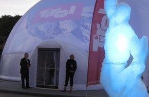 Tirol Werbung: Tirol Werbung startet Bergwinter in Warschau