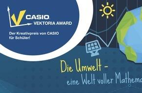 CASIO Europe GmbH: Schüler erklären beim Vektoria Award wie Mathematik die Umwelt verständlicher macht / CASIO prämiert die besten Präsentationen zum Thema Mathe und Umwelt mit insgesamt 3.000 Euro