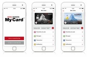 Swiss Bankers Prepaid Services AG: Swiss Bankers Prepaid Services: Lancement de la nouvelle app «My Card» (IMAGE)