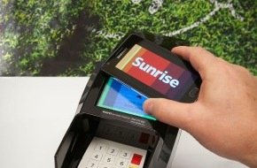 Sunrise Communications AG: Sunrise startet erstes Pilotprojekt für Mobile Payment