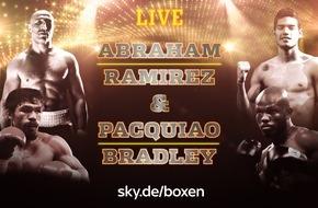 Sky Deutschland: Historische Chance für Arthur Abraham und der letzte Kampf von Boxlegende Manny Pacquiao: die große Boxnacht bei Sky am Samstag live aus Las Vegas