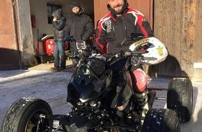 """RTL II: """"GRIP - Das Motormagazin"""": Matthias Malmedie im Duell mit Jens Kuck / Sendetermin: Sonntag, 15. Februar 2015, um 18:00 Uhr bei RTL II"""