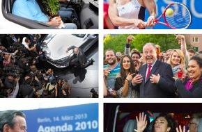 dpa Deutsche Presse-Agentur GmbH: dpa zeichnet Bilder des Jahres 2013 aus - picture alliance präsentiert die Gewinner