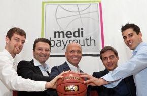 medi GmbH & Co. KG: medi ist neuer Haupt- und Namenssponsor der Bayreuther Bundesliga-Basketballer