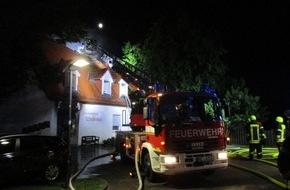 Polizeipräsidium Mainz: POL-PPMZ: Wohnhausbrand in Oppenheim