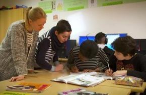Bildung als Schlüssel zur Integration: Nachhilfe-Institut Studienkreis unterstützt junge und erwachsene Flüchtlinge mit kostenlosem Sprachunterricht