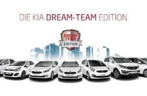 """KIA Motors Deutschland GmbH: Heißer Herbst bei Kia: Comeback der beliebten Sondermodelle """"Dream-Team Edition"""""""