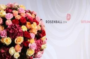 "Bertelsmann SE & Co. KGaA: Weltstars und großzügige Spenden beim ""Rosenball 2014"" in Berlin"