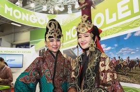 Messe Berlin GmbH: Offizielles Partnerland ITB Berlin 2015: Mongolei lockt mit nomadischer Kultur (FOTO)