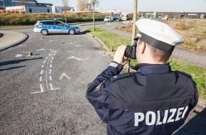 Polizeipressestelle Rhein-Erft-Kreis: POL-REK: Unfallursache unklar - Bergheim