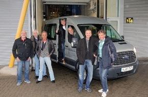 Ford-Werke GmbH: Zum ersten Mal an der Linie: Die Bläck Fööss auf den Spuren des Ford Fiesta (FOTO)
