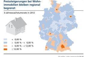 BVR Bundesverband der dt. Volksbanken und Raiffeisenbanken: BVR-Studie zum Immobilienmarkt: Steigerungen der Mietpreise durch Anreize zum Wohnungsbau entgegenwirken