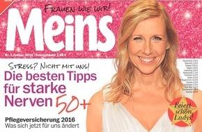 """Bauer Media Group, Meins: Saskia Vester in Meins: Burn-out vor sechs Jahren - """"Ich musste die Reißleine ziehen"""""""