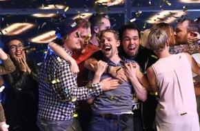 """ProSieben Television GmbH: Sehr schöner Start für die neue ProSieben-Show """"TEAMWORK"""" - Klaas Heufer-Umlauf gewinnt für Lokführer Marcel 111.000 Euro (FOTO)"""