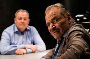 A&E: Erstmals als Serienkiller: TV-Legende Fritz Wepper steht für neues Crime-Format des Senders A&E in ungewöhnlicher Rolle vor der Kamera