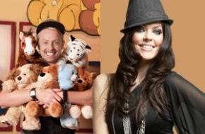 Build-A-Bear Workshop: Popstars als Bärenmacher bringen Kinderaugen zum Strahlen